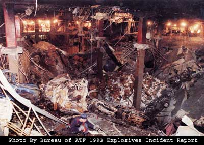 World Trade Center Bombing 1993(Bureau of ATF)